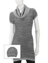 Made For Me To Look Amazing 2-pc. Popcorn Knit Tunic & Beanie Set