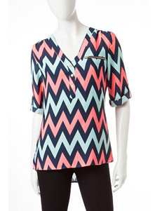 Wishful Park Neon Pink Shirts & Blouses