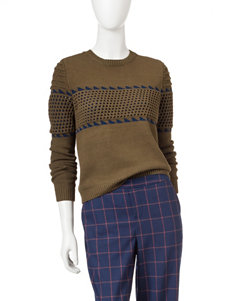 Romeo + Juliet Couture Olive Sweaters