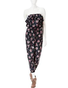 Romeo + Juliet  Couture Floral Print Jumpsuit