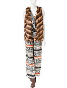 Romeo + Juliet  Couture Woven Printed Jumpsuit