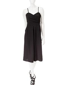 Romeo + Juliet Couture Crepe Culotte Jumpsuit