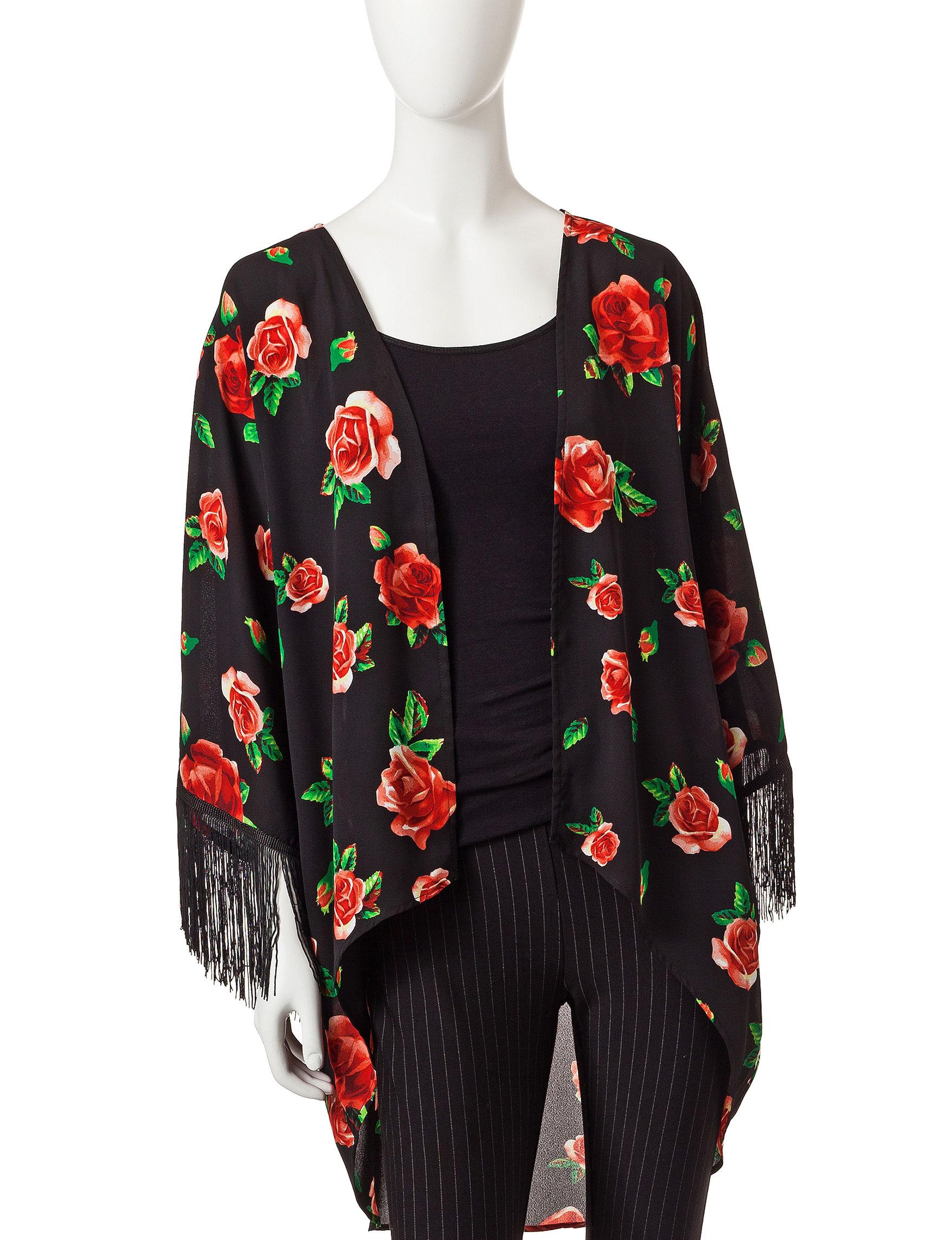 Romeo + Juliet Couture Black Shirts & Blouses