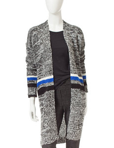Romeo + Juliet  Couture Striped Cardigan Sweater