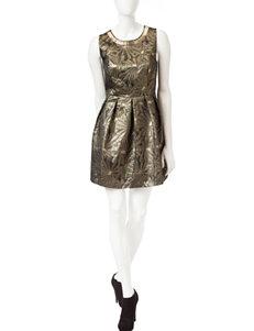 Romeo + Juliet  Couture Metallic Dress