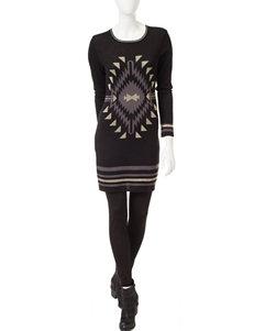 Romeo + Juliet Couture Black Knit Dress