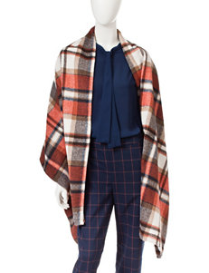 Romeo + Juliet Couture Plaid Poncho
