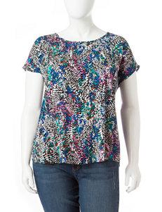Eyeshadow Black / Multi Shirts & Blouses