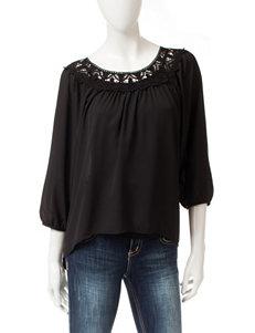 Eyeshadow Black Shirts & Blouses