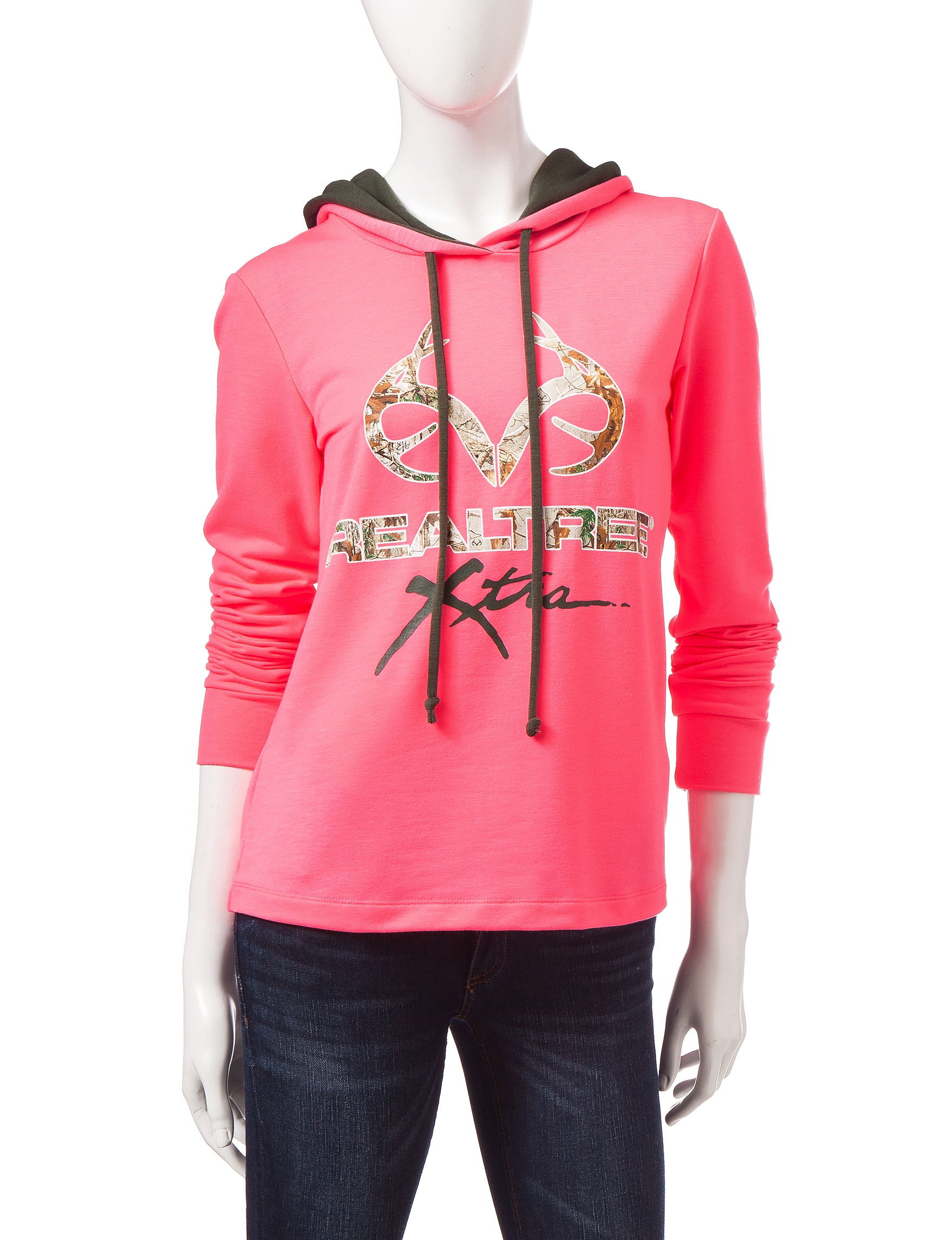 Realtree Neon Pink Pull-overs