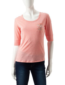 Sugar High Coral Tees & Tanks