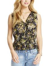 Jessica Simpson Adira Floral Print Top