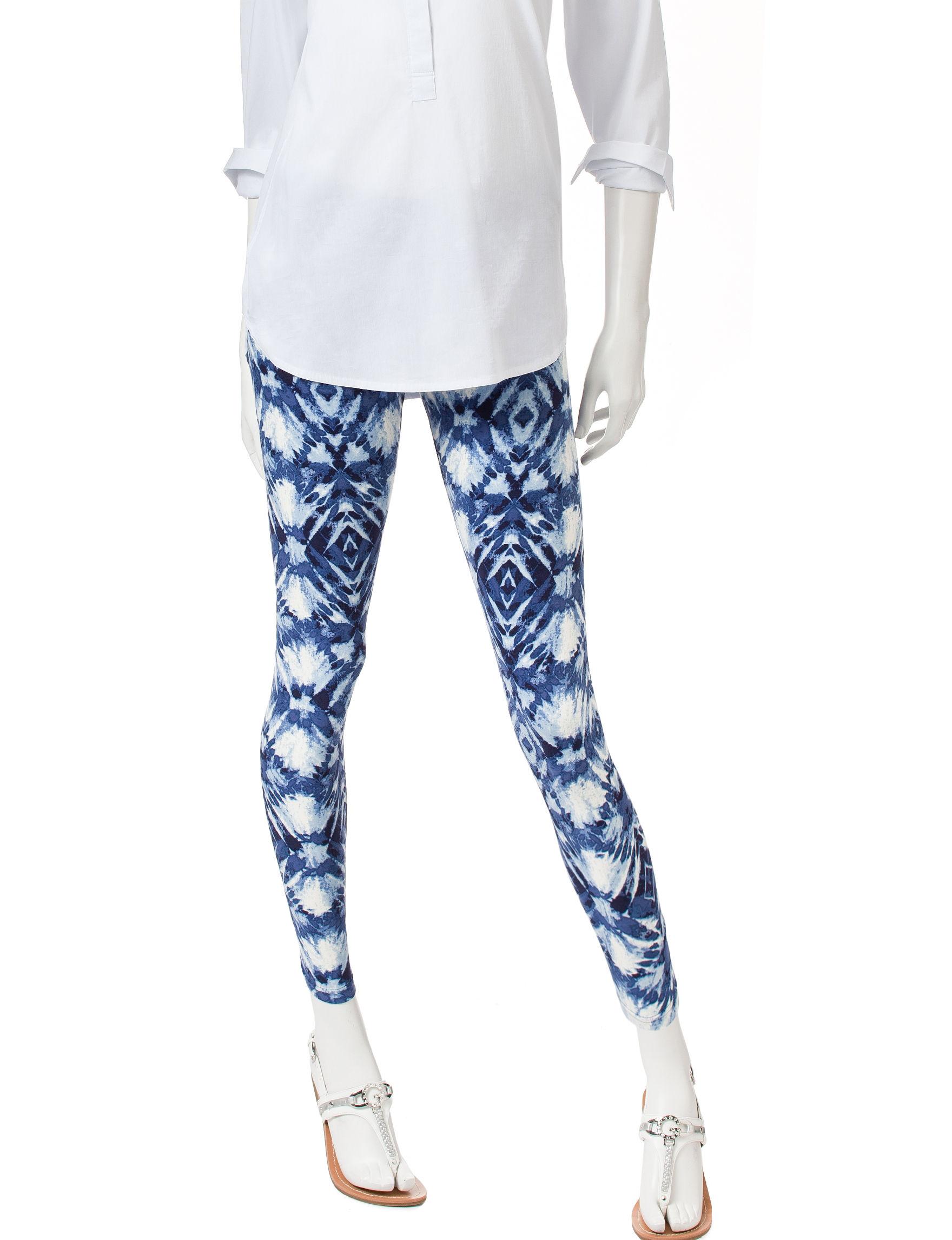Ultra Flirt Blue Multi Leggings