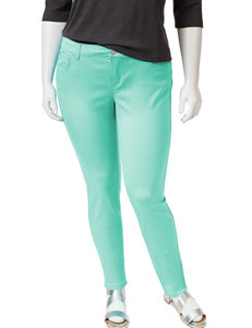 Celebrity Pink Juniors-plus Solid Color Sateen Skinny Pants