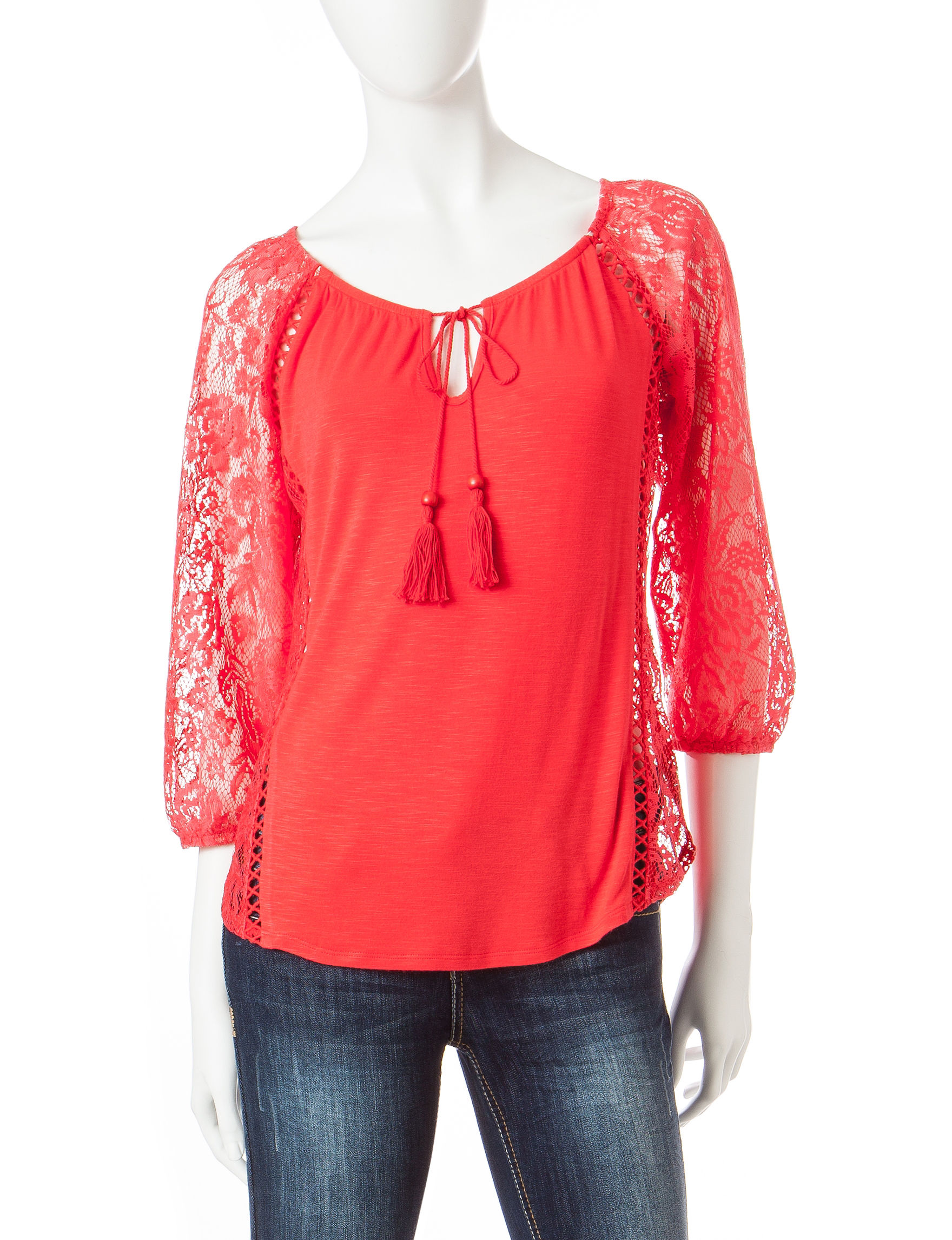 Heart Soul Light Pink Shirts & Blouses