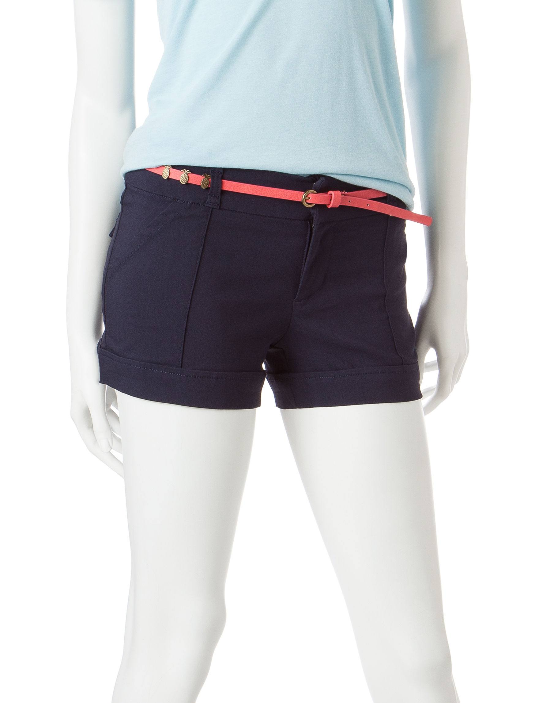 BeBop Navy Tailored Shorts