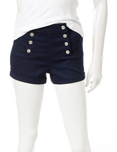 Almost Famous Navy Tailored Shorts