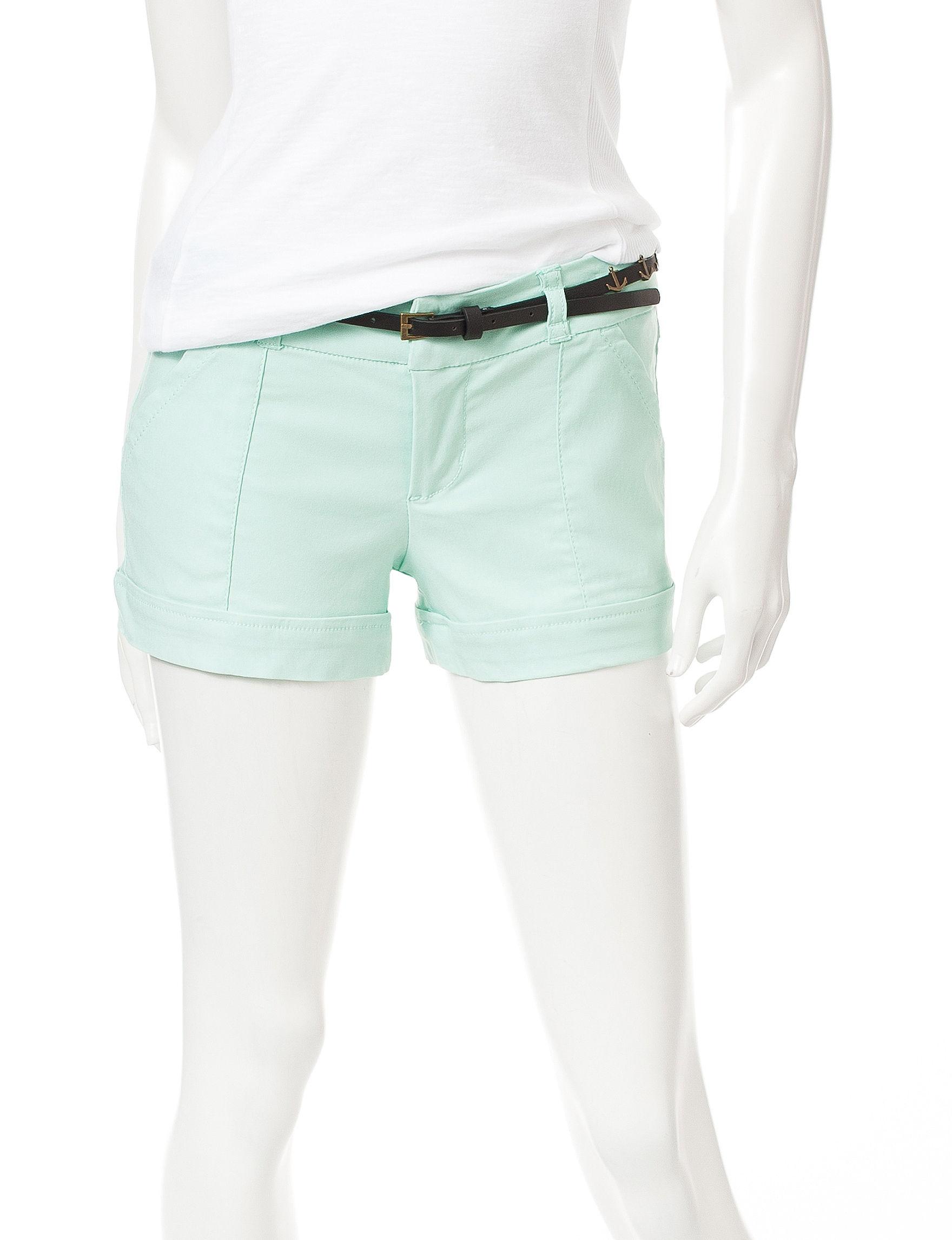 BeBop Aquamarine Tailored Shorts