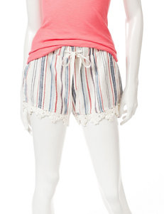 BeBop Striped Linen Shorts
