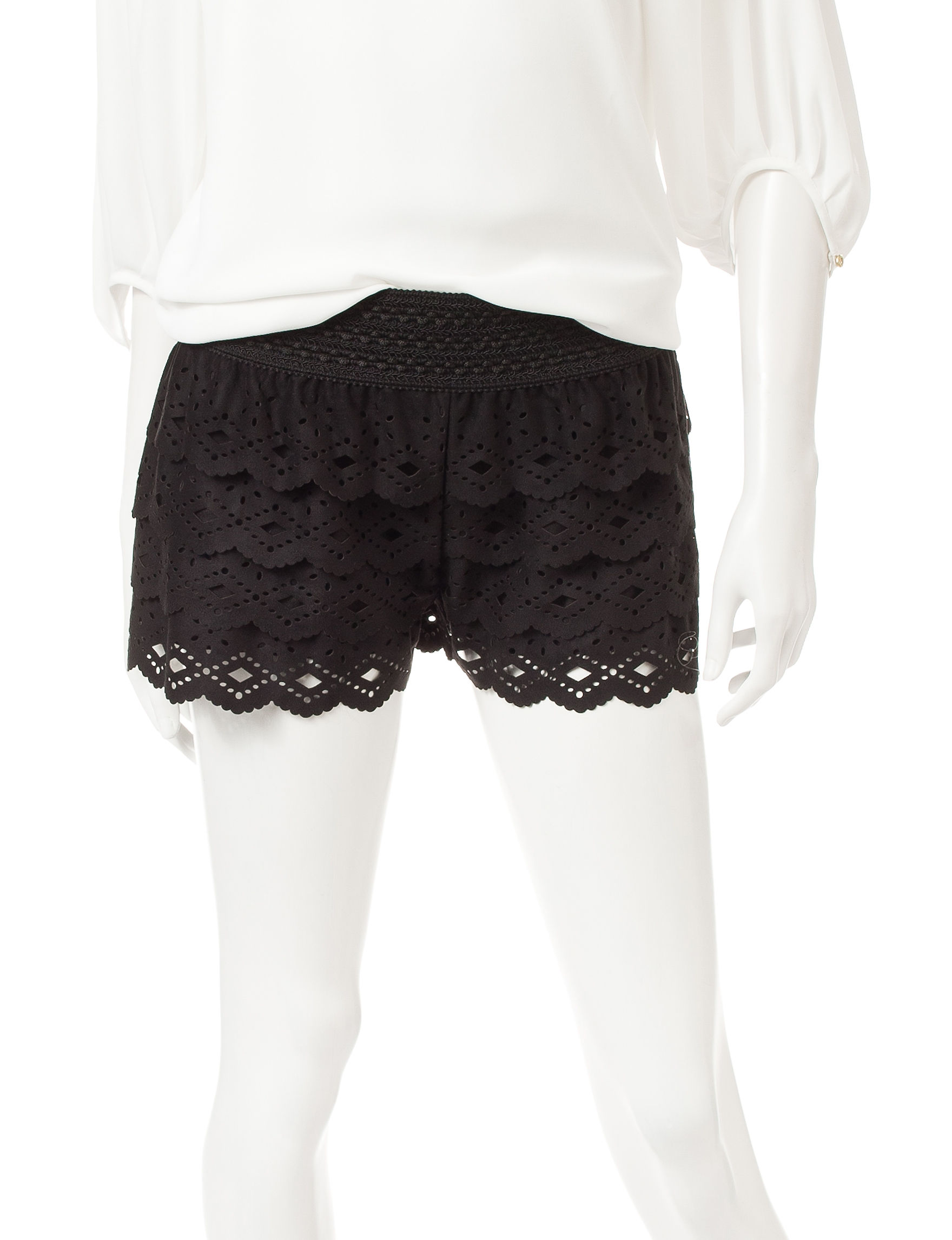 Jolt Black Soft Shorts