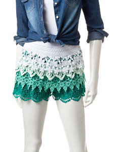Mark Edwards Ombre Crochet Shorts