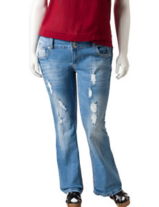 Amethyst Jeans Series 31 Juniors-plus Flare Jeans