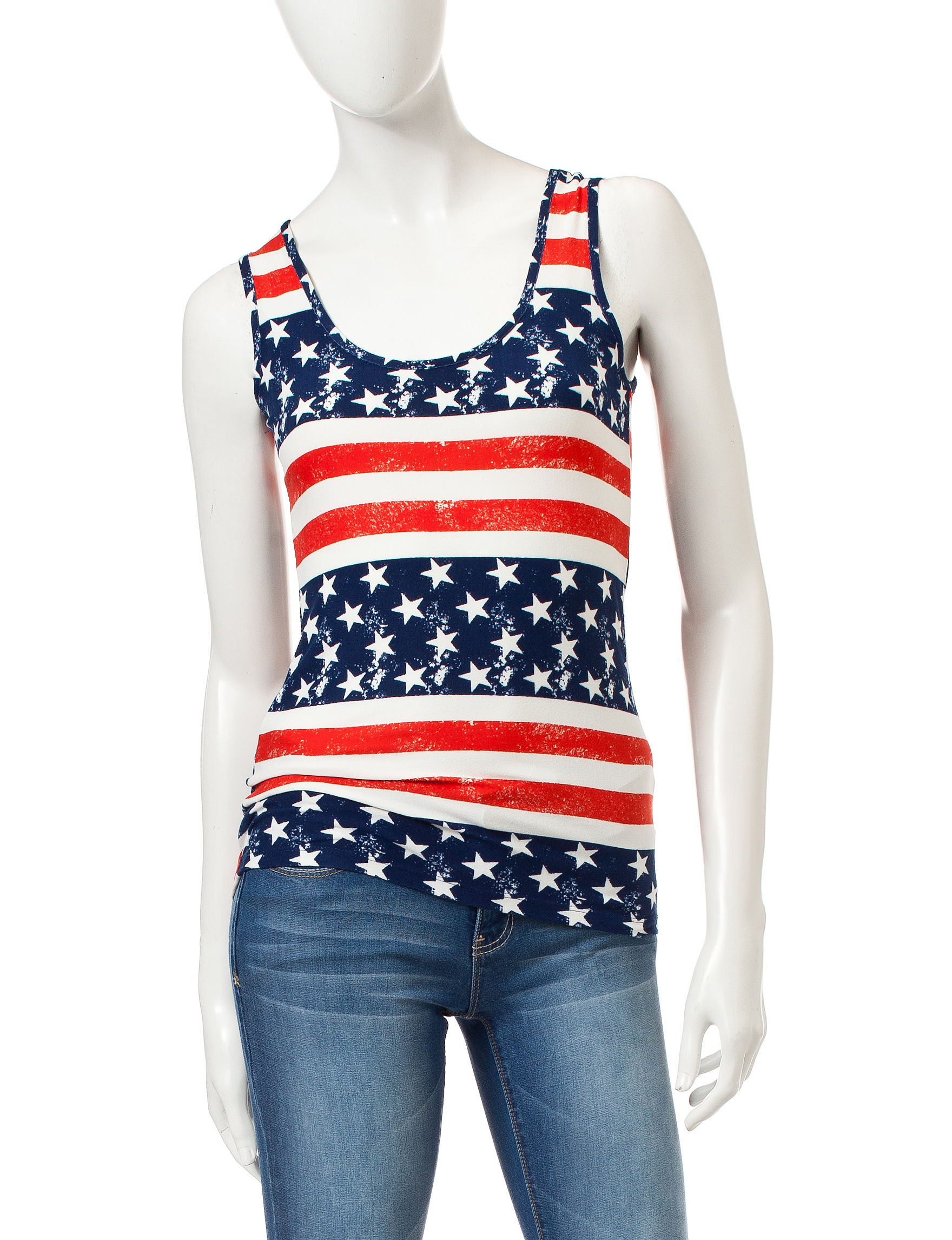 Wishful Park Navy Camisoles & Tanks