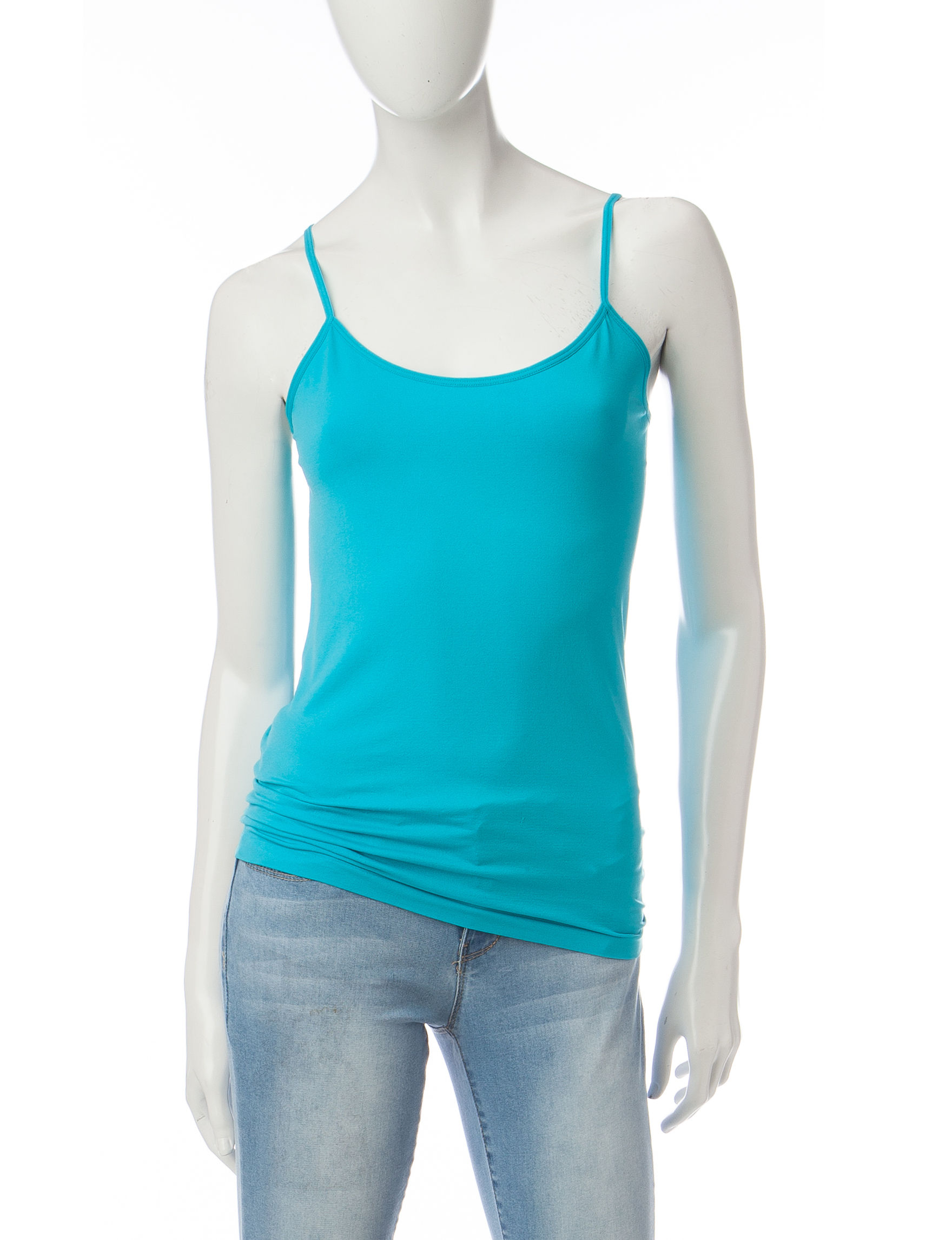 Wishful Park Medium Blue Camisoles & Tanks