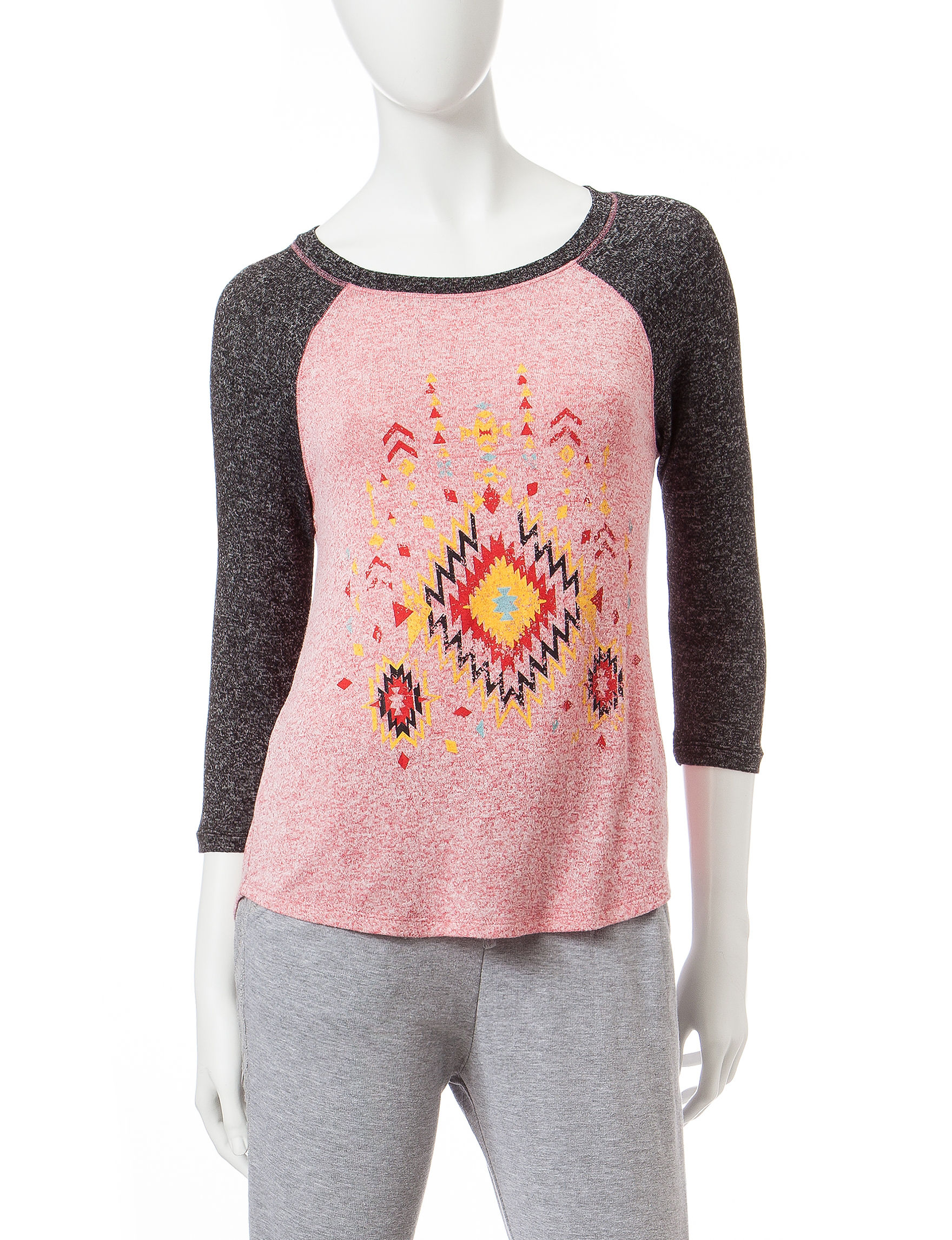 Inspired Hearts Coral Pull-overs