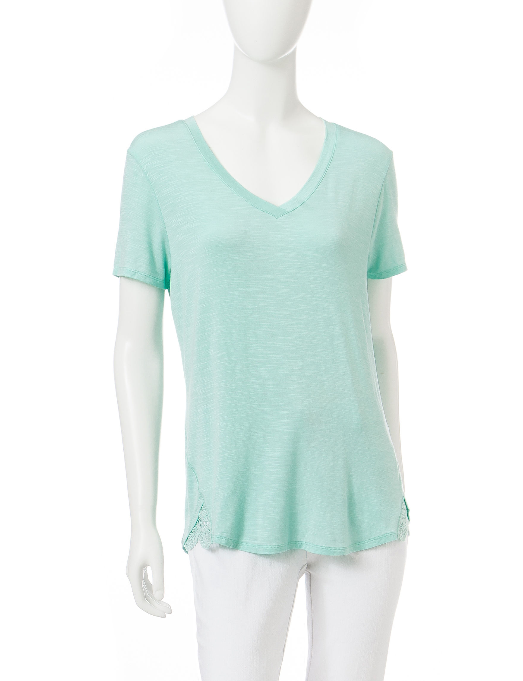 Signature Studio Mint Shirts & Blouses