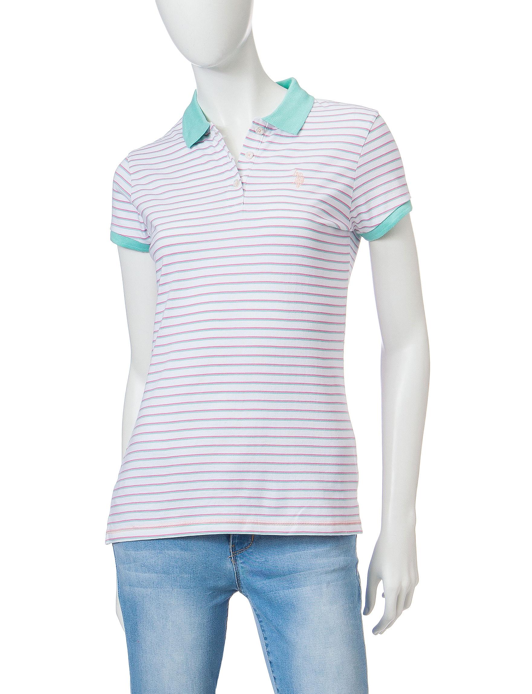 U.S. Polo Assn. Light Green Shirts & Blouses