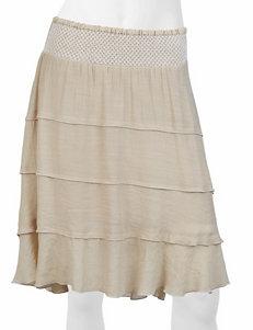 A. Byer Tiered Gauze Skirt
