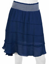 A. Byer Tiered Gauze Skirt