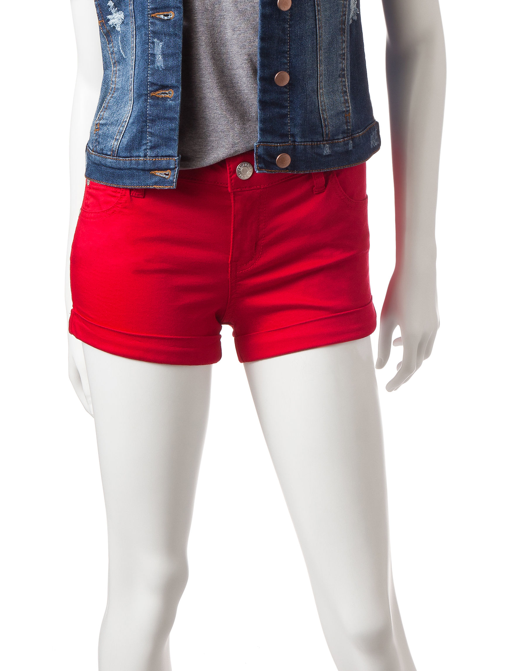 Celebrity Pink Red Tailored Shorts