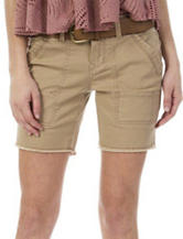 Unionbay® Beige Ambrose Midi Shorts
