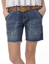 Unionbay® Ambrose Medium Wash Midi Shorts