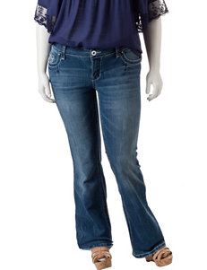 Amethyst Juniors-plus Medium Wash Bootcut Jeans