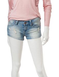 YMI Blue Denim Denim Shorts