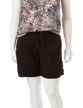 Unionbay® Plus-size Stretch Twill Shorts