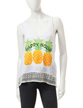 Miss Chievous Happy Hour Tank Top