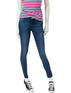 Jolt Classic Wash Techno Tuck Skinny Jeans