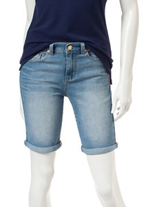 U.S. Polo Assn. Light Wash Rolled Cuff Shorts
