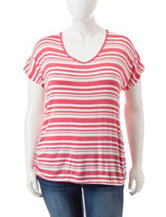 Wishful Park Plus-size Striped Cinch Top