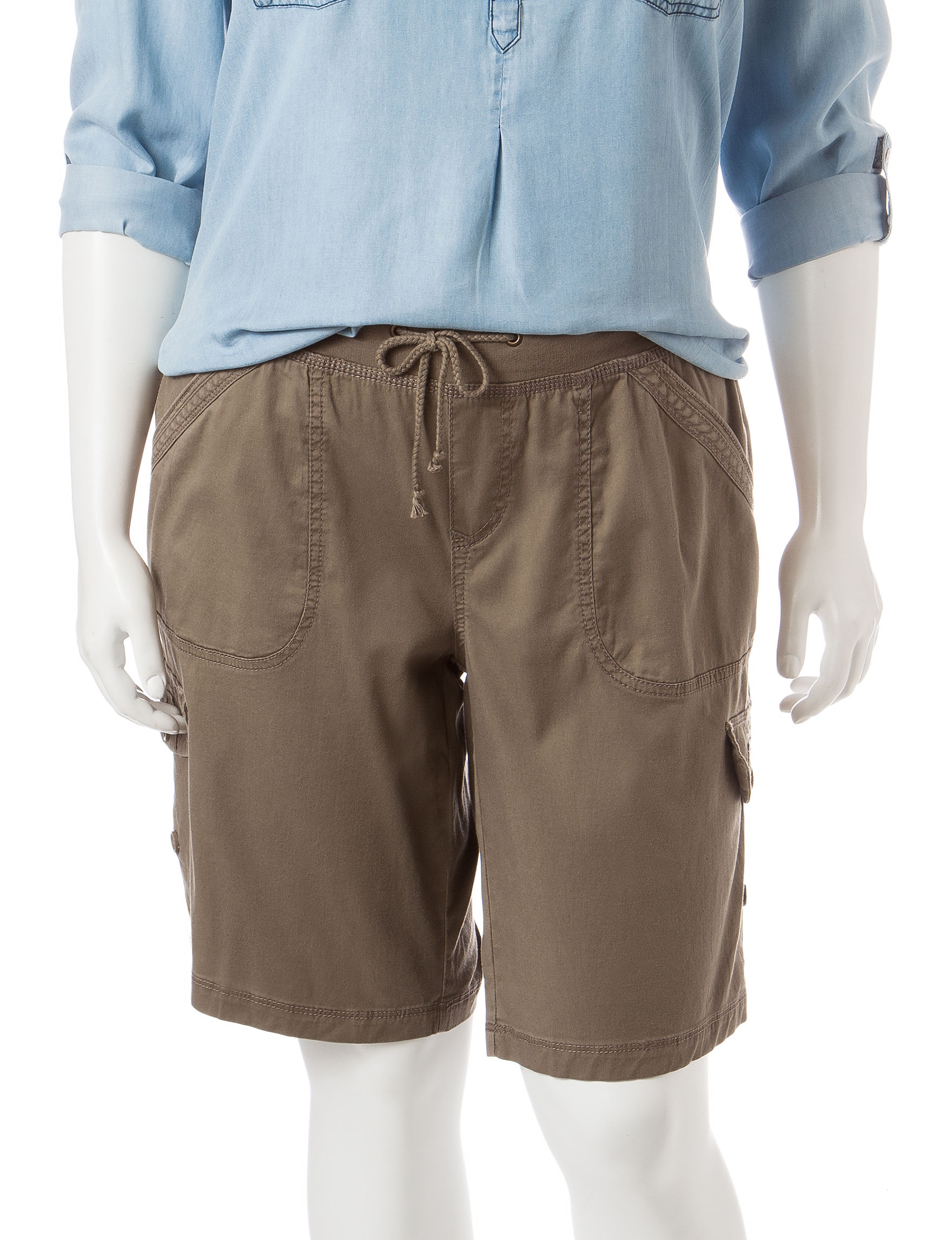 Union Bay Medium Brown Soft Shorts