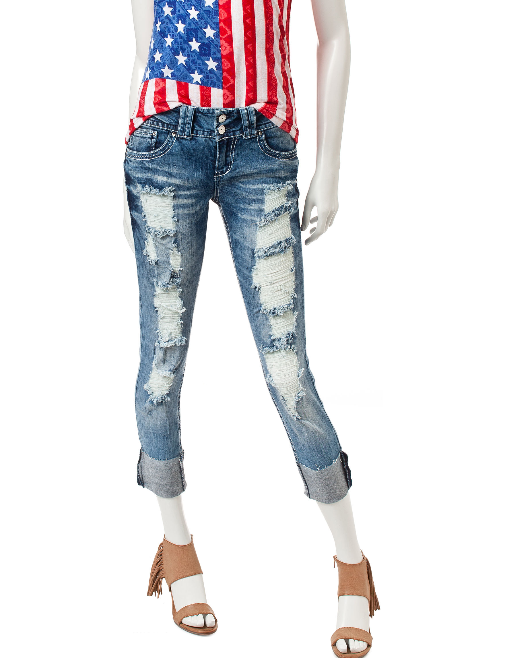 Almost Famous Medium Wash Skinny