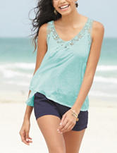 It's Our Time Crochet Knit Top