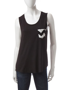 Liberty Love Black / White Stripe Tees & Tanks