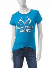 Sugar High Blue Realtree® Logo Top