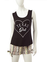 Living Doll Texas Girl Tank Top