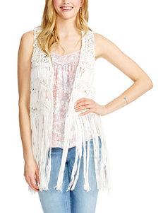 Jessica Simpson Natural Vests